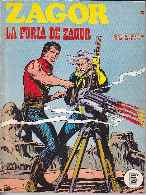 COMIC ZAGOR Nº 28 (Tebeos y Comics - Buru-Lan - Zagor)