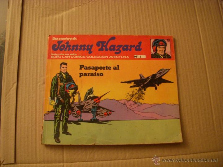 JONNY HAZARD Nº 1, EDITORIAL BURULAN (Tebeos y Comics - Buru-Lan - Otros)