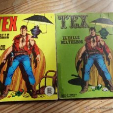 Cómics: TEX Nº 1 VERSIONES EN AMARILLO Y VERDE EL VALLE DEL TERROR BURULAN. Lote 47504292