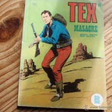 Cómics: TEX Nº 24 MASACRE BURULAN. Lote 47504400