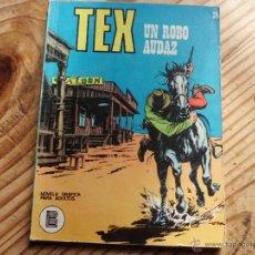 Cómics: TEX Nº 34 UN ROBO AUDAZ BURULAN. Lote 47504447