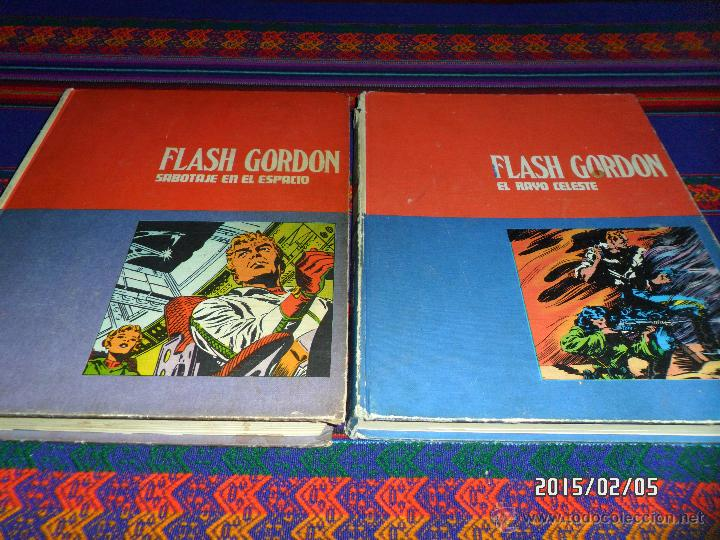 FLASH GORDON TOMO Nº 01 EL RAYO CELESTE. BURU LAN 1972. (Tebeos y Comics - Buru-Lan - Flash Gordon)