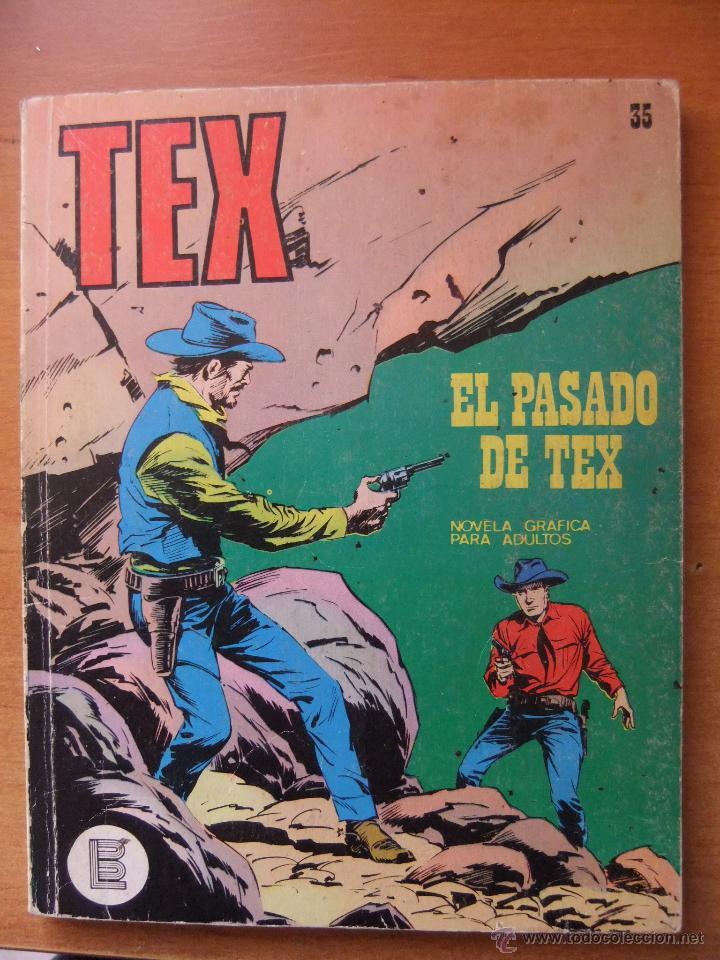TEX Nº35 BURULAN (Tebeos y Comics - Buru-Lan - Tex)
