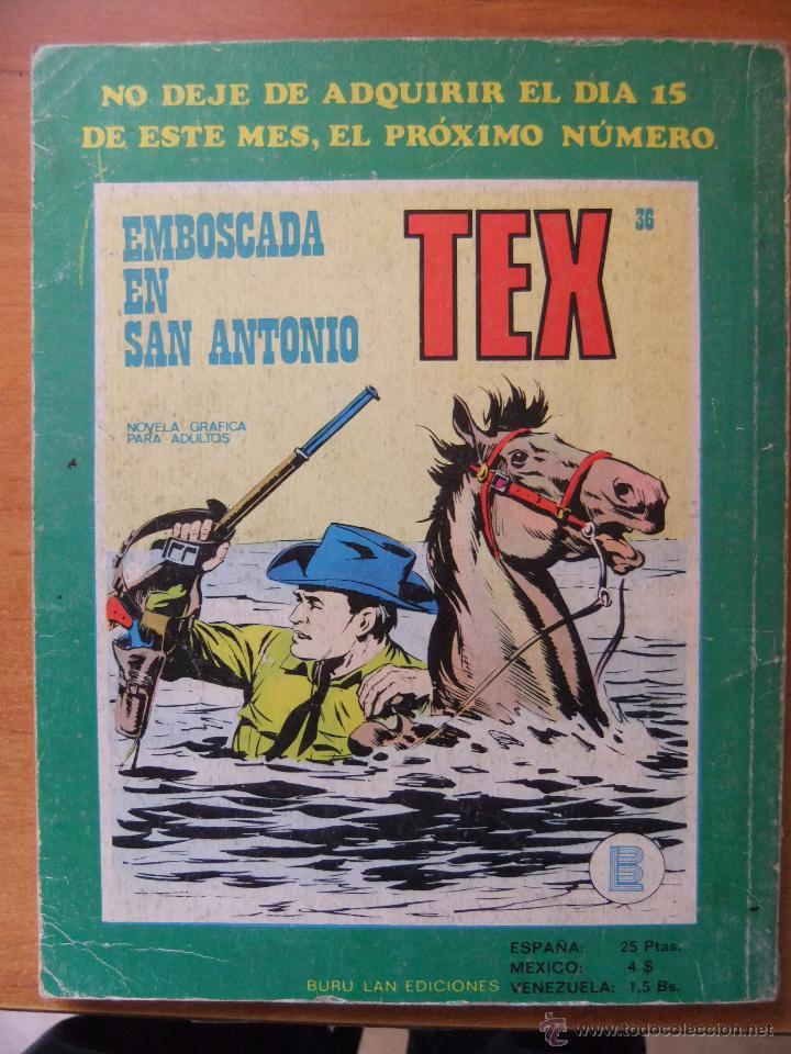 Cómics: TEX Nº35 BURULAN - Foto 2 - 47764046