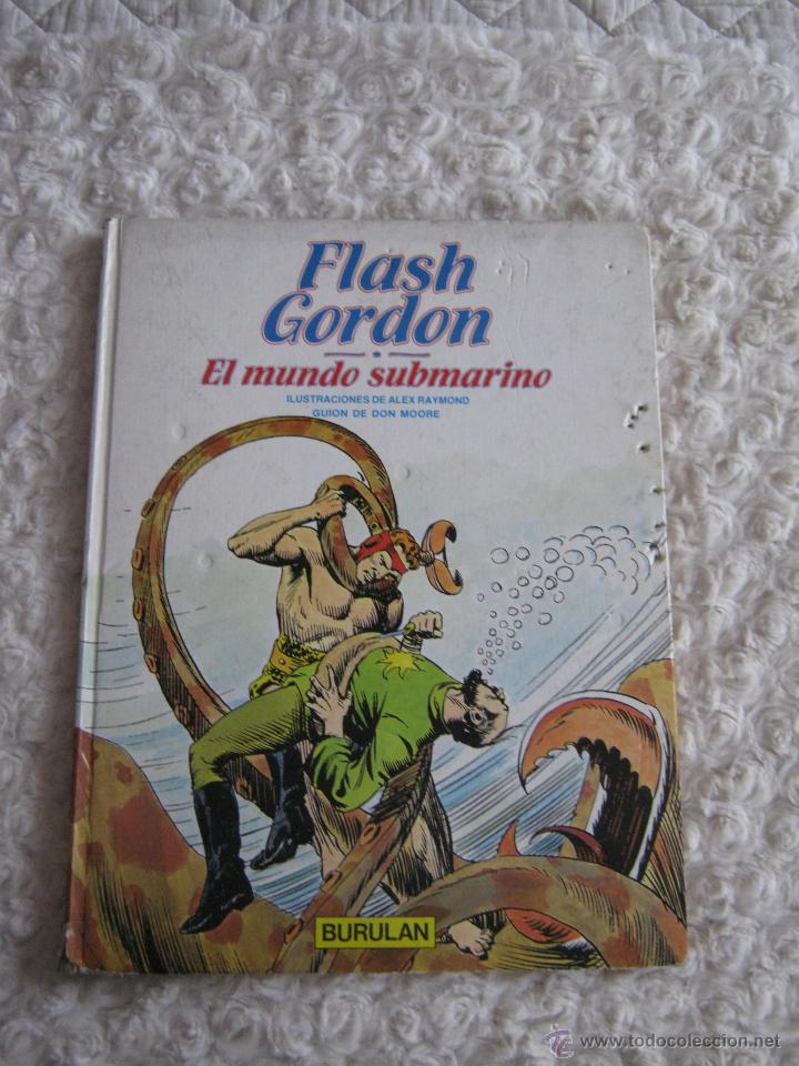 FLASH GORDON- EL MUNDO SUBMARINO -N. 5 (Tebeos y Comics - Buru-Lan - Flash Gordon)
