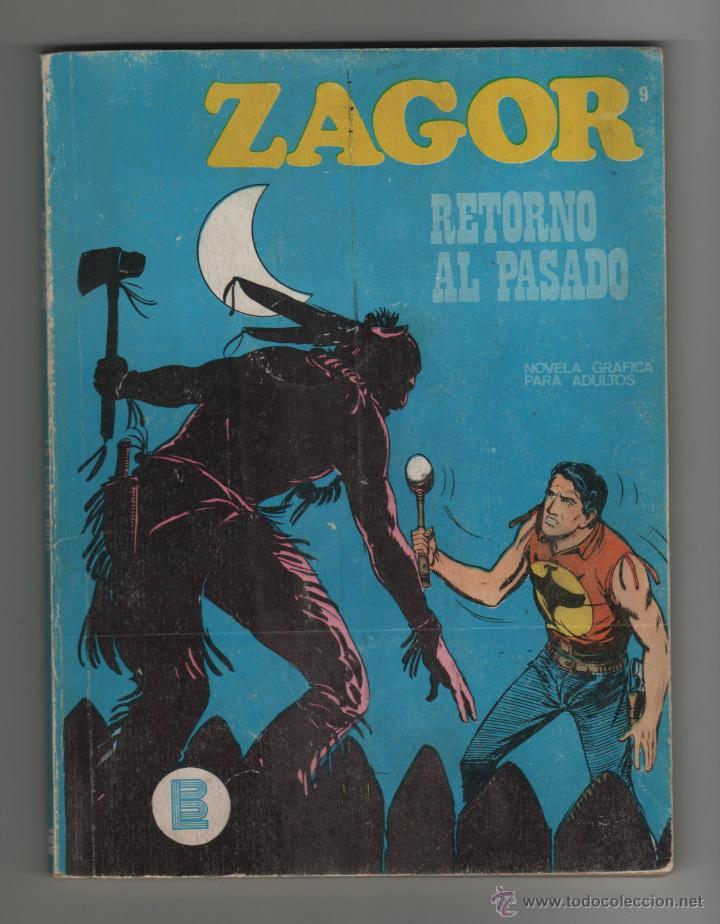 ZAGOR RETORNO AL PASADO Nº9. (Tebeos y Comics - Buru-Lan - Zagor)