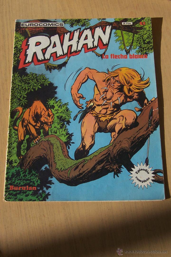 BURU LAN RAHAN Nº 21 (Tebeos y Comics - Buru-Lan - Rahan)