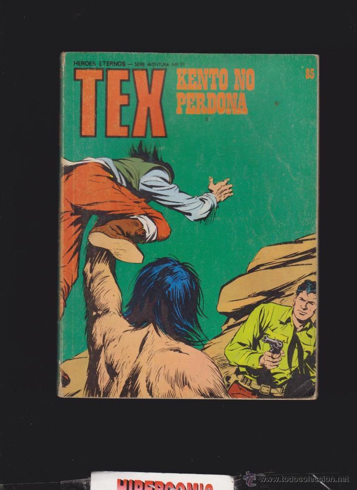 TEX Nº 85 - EDITA : BURU LAN 1973 (Tebeos y Comics - Buru-Lan - Tex)