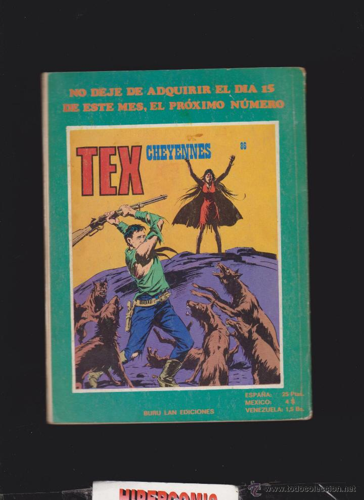 Cómics: TEX Nº 85 - edita : BURU LAN 1973 - Foto 2 - 48297863