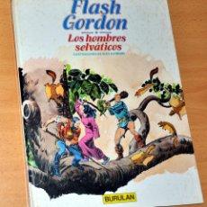 Cómics: FLASH GORDON - TOMO 6 - LOS HOMBRES SELVÁTICOS - DE ALEX RAYMOND - BURULAN - AÑO 1983. Lote 48368763