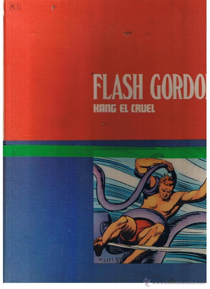 FLASH GORDON. TOMO Nº 3. KANG EL CRUEL. BURU LAN 1972. (B/A27) (Tebeos y Comics - Buru-Lan - Flash Gordon)