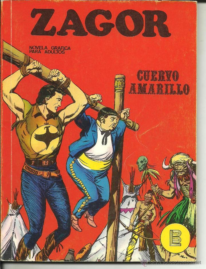 ZAGOR NÚMERO 4: CUERVO AMARILLO EDITORIAL BURU LAN (Tebeos y Comics - Buru-Lan - Zagor)