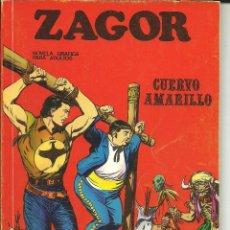 Cómics: ZAGOR NÚMERO 4: CUERVO AMARILLO EDITORIAL BURU LAN. Lote 48428812