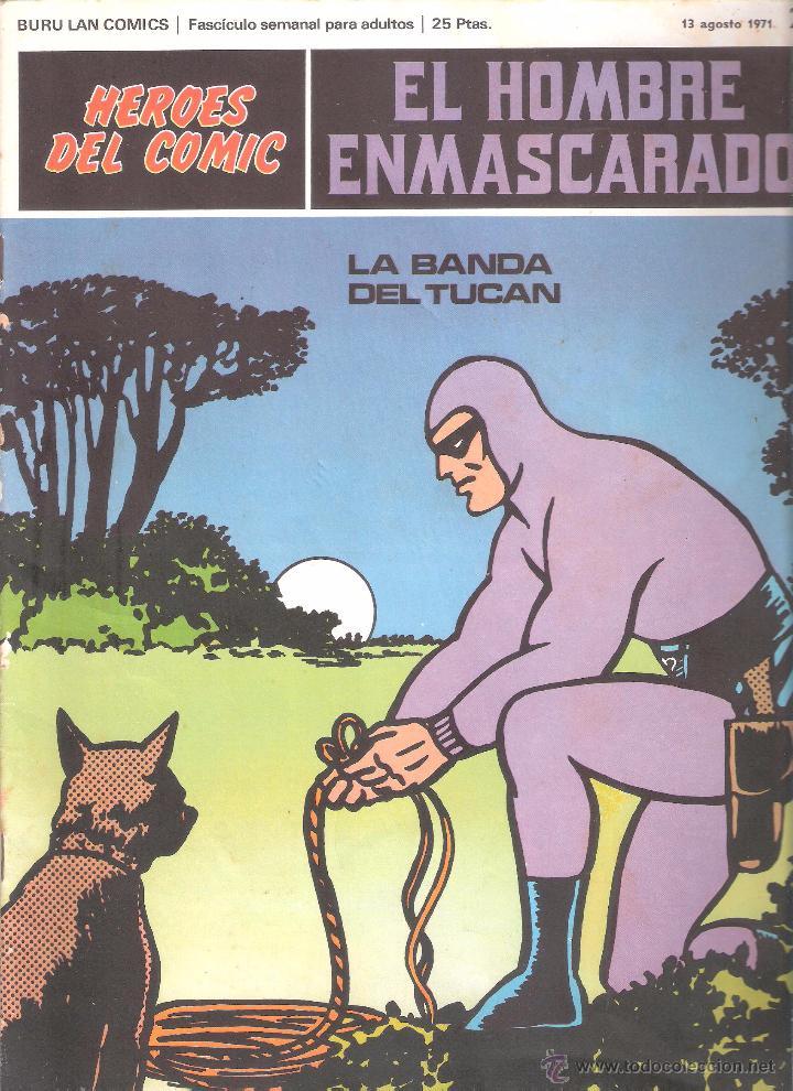 EL HOMBRE ENMASCARADO Nº 29-BURULAN (Tebeos y Comics - Buru-Lan - Hombre Enmascarado)