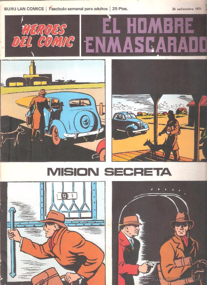 EL HOMBRE ENMASCARADO Nº 35-BURULAN (Tebeos y Comics - Buru-Lan - Hombre Enmascarado)