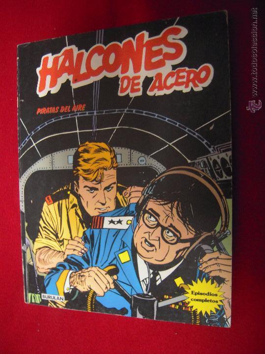 HALCONES DE ACERO - PIRATAS DEL AIRE - ALBUM 5 - RUSTICA (Tebeos y Comics - Buru-Lan - Halcones de Acero)