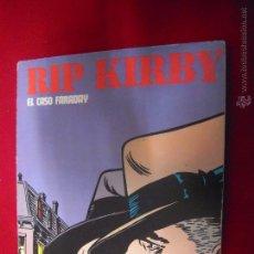 Cómics: RIP KIRBY - EL CASO FARADAY - ALBUM 1 - RUSTICA. Lote 48528040