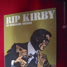 Cómics: RIP KIRBY - LAS ESMERALDAS ROBADAS - ALBUM 8 - RUSTICA. Lote 48528153
