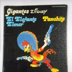 Cómics: GIGANTES DISNEY Nº 18. PANCHITO. HISTORIAS MARAVILLOSAS Nº 18. BURU LAN. TDK80. Lote 48569571