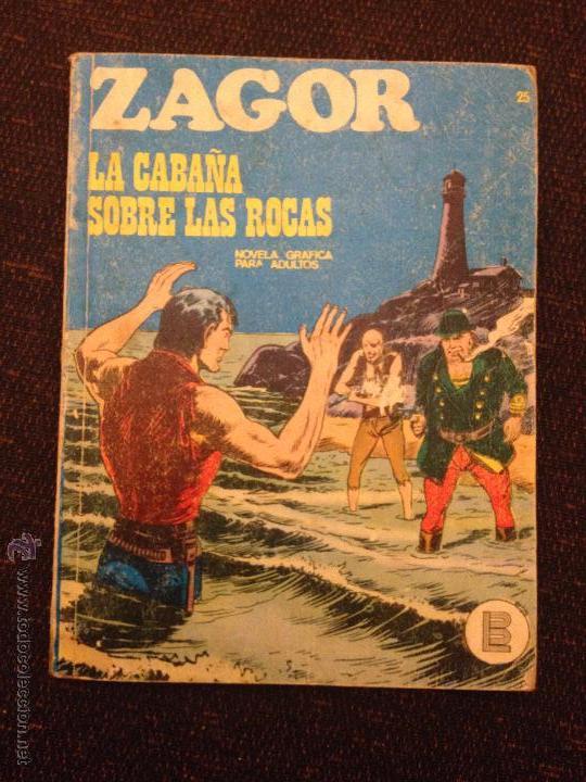 BURU LAN - ZAGOR - NÚMERO 25 - LA CABAÑA SOBRE LAS ROCAS (Tebeos y Comics - Buru-Lan - Zagor)