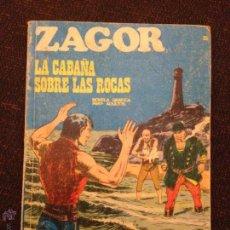 Cómics: BURU LAN - ZAGOR - NÚMERO 25 - LA CABAÑA SOBRE LAS ROCAS. Lote 48590302