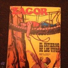 Cómics: BURU LAN - ZAGOR - NÚMERO 27 - EL INFIERNO DE LOS VIVOS. Lote 48590349