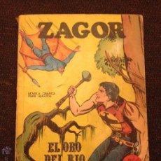 Cómics: BURU LAN - ZAGOR - NÚMERO 3 - EL ORO DEL RÍO. Lote 48590355