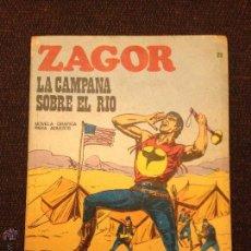 Cómics: BURU LAN - ZAGOR - NÚMERO 22 - LA CAMPANA SOBRE EL RÍO. Lote 48590372