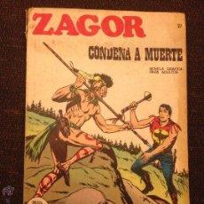 Cómics: BURU LAN - ZAGOR - NÚMERO 23 - CONDENA A MUERTE. Lote 48590408