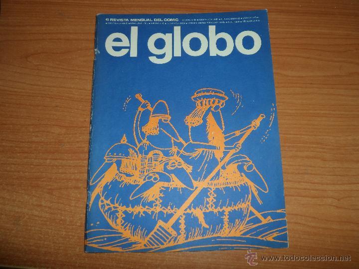 EL GLOBO Nº 6 BURU LAN EDICIONES 1973 (Tebeos y Comics - Buru-Lan - Otros)