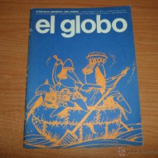 Cómics: EL GLOBO Nº 6 BURU LAN EDICIONES 1973 . Lote 48596768