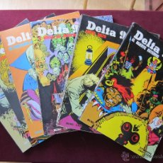 Cómics: DELTA 99 COMPLETA 6 TOMOS. BURU LAN, 1974 CARLOS JIMENEZ, USERO, MANEL TEBENI. Lote 48700801