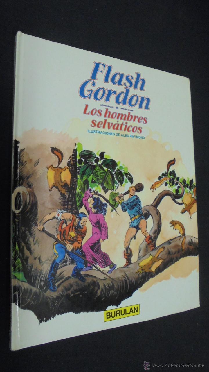 FLASH GORDON .º 6. LOS HOMBRE SELVÁTICOS. BURULAN. (Tebeos y Comics - Buru-Lan - Flash Gordon)