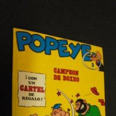 Cómics: POPEYE. Nº 3. CAMPEON DE BOXEO. BURU LAN.. Lote 48782649