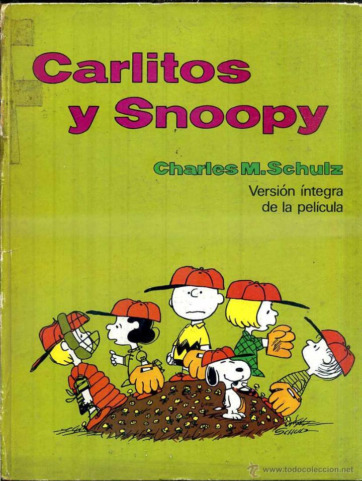 CARLITOS Y SNOOPY . VERSIÓN ÍNTEGRA DE LA PELÍCULA (Tebeos y Comics - Buru-Lan - Otros)