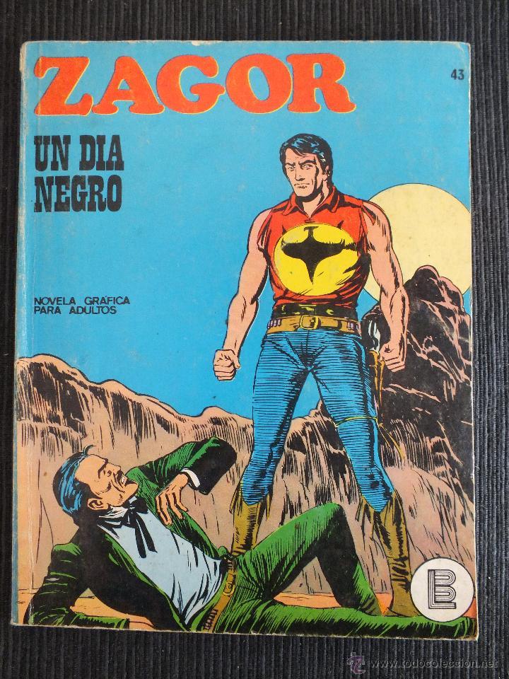 ZAGOR Nº 43 BURULAN (Tebeos y Comics - Buru-Lan - Zagor)