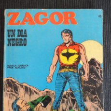 Cómics: ZAGOR Nº 43 BURULAN. Lote 49058247