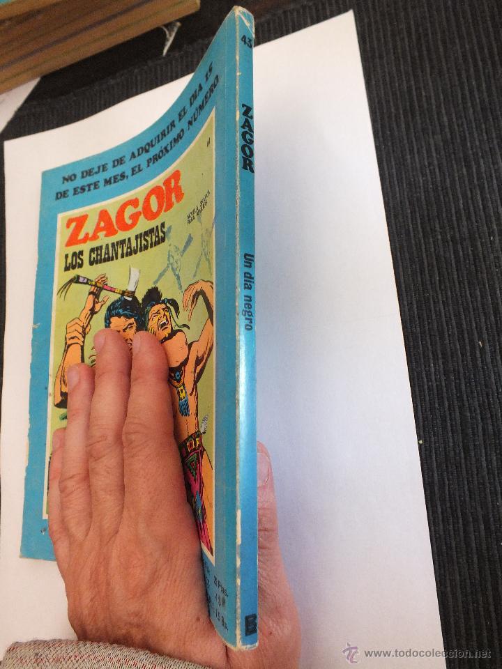 Cómics: ZAGOR Nº 43 BURULAN - Foto 3 - 49058247