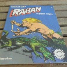 Cómics: PUBLICACION SEMANAL JUVENIL RAHAN EUROCOMICS 1974 Nº 4 LA PIEDRA MAGICA. Lote 49100412
