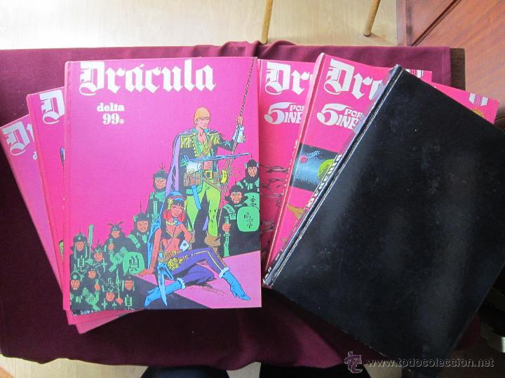 DRÁCULA. DELTA 99, 5 POR INFINITO. COMPLETA. 6 TOMOS BURU LAN, ESTEBAN MAROTO, SIO, BURULAN TEBENI (Tebeos y Comics - Buru-Lan - Drácula)