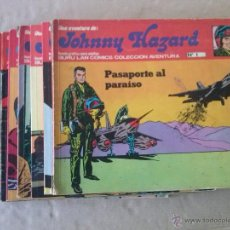 Cómics: LOTE DE JOHNNY HAZAR 9 NºS - A FALTA DE 9 Y 10 PARA CONPLETAR, SE VENDEN SUELTOS. Lote 49201013