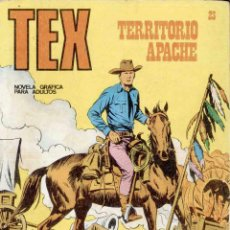 Cómics: TEX Nº 23 : TERRITORIO APACHE. Lote 49361427