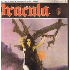 DRÁCULA. Nº 1. BURU LAN 1971. (C/A38).