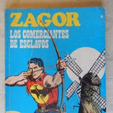 Cómics: ZAGOR Nº19, LOS COMERCIANTES DE ESCLAVOS. Lote 49472851