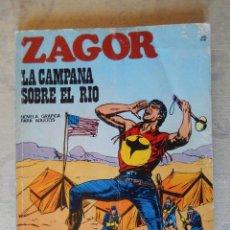 Cómics: ZAGOR Nº 22, LA CAMPANA SOBRE EL RIO. Lote 49472911