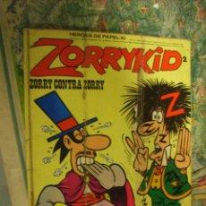 Cómics: ZORRYKID 2, HÉROES DE PAPEL-10. Lote 49532921