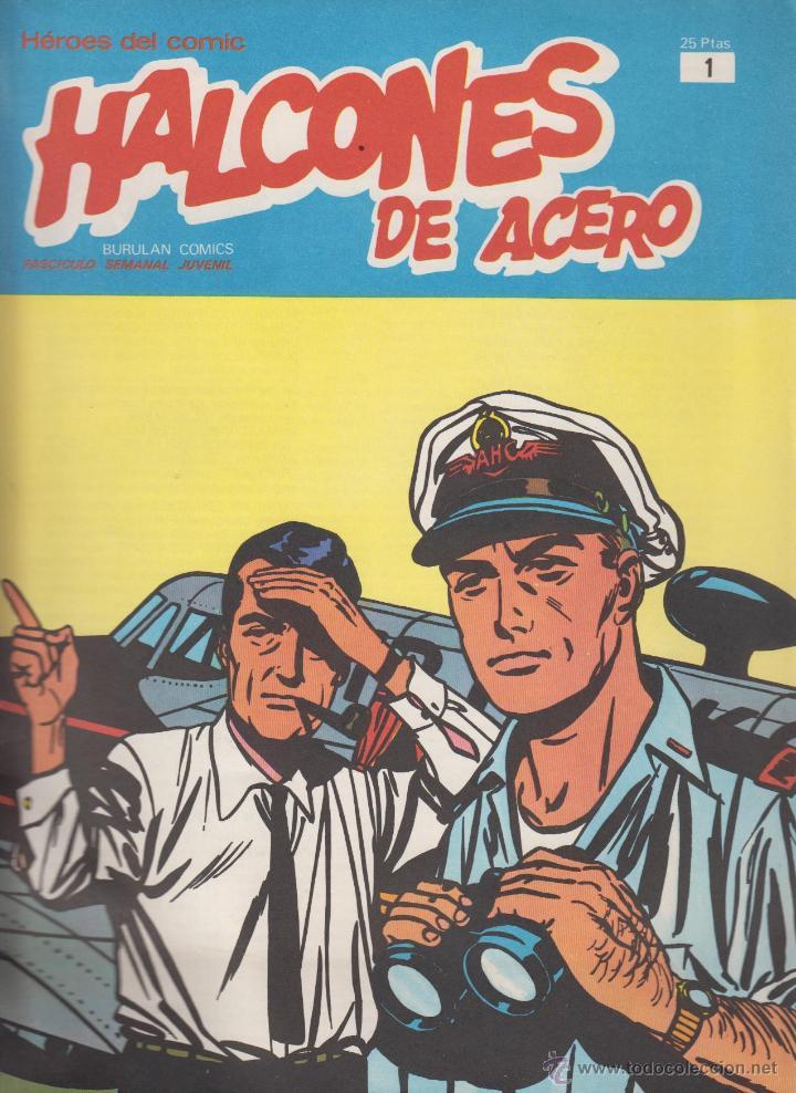 HALCONES DE ACERO Nº 1 -ED. BURU LAN (Tebeos y Comics - Buru-Lan - Halcones de Acero)