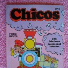 Cómics: CHICOS 1 EDICIONES BURU-LAN 1973 EPISODIOS COMPLETOS. Lote 49596916