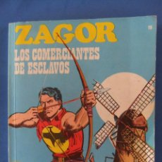 Cómics: ZAGOR Nº 19 LOS TRAFICANTES DE ESCLAVOS BURULAN MUY BUEN ESTADO. Lote 49717217