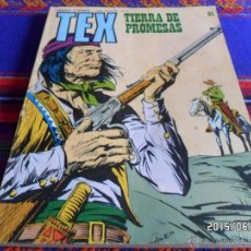 Cómics: TEX Nº 84 TIERRA DE PROMESAS. BURU LAN 1974. . Lote 49876822